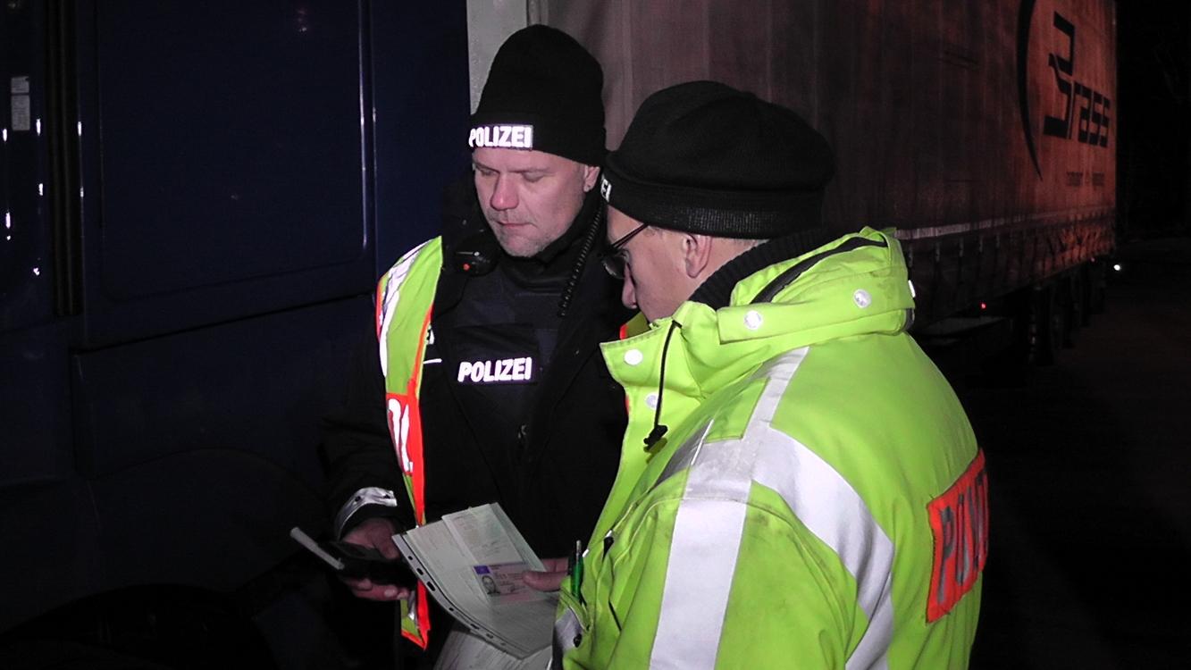 Polizeikontrolle Hessen