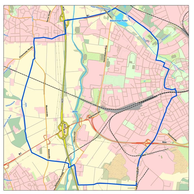 Karte Paderborn.Dritter Fall Von Amerikanischer Faulbrut Bei Bienen In Paderborn