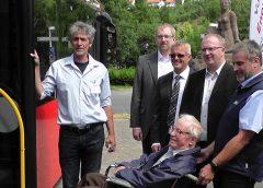 Keine Angst vor dem Bus – Mit Rollstuhl und Rollator unterwegs