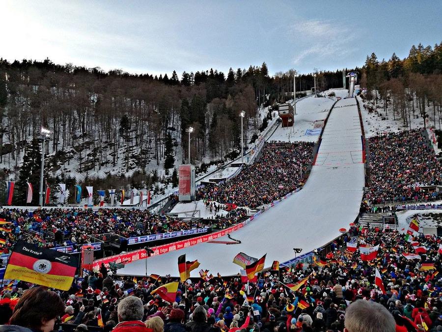 Skispringen Willingen Heute