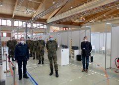 Bundeswehr aus Frankenberg unterstützt den Landkreis bei Impfungen